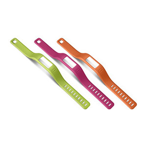 Garmin Vivofit Bands, Small Orange Pink Green