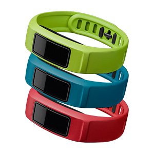 Garmin Vivofit 2 'Active' Bands, Large Red Blue Green 010-12336-02