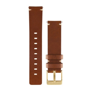 Garmin Vivomove Band, Light Brown Leather