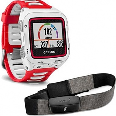 Garmin Forerunner 920XT + HRM, White/Red