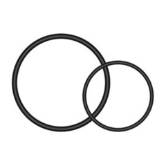 GARMIN QUARTER TURN O RINGS 010-12385-10
