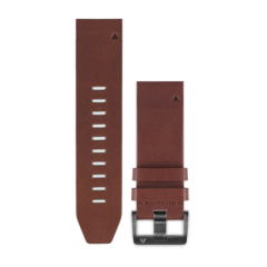 GARMIN Quickfit Brown Leather Band 010-12946-05
