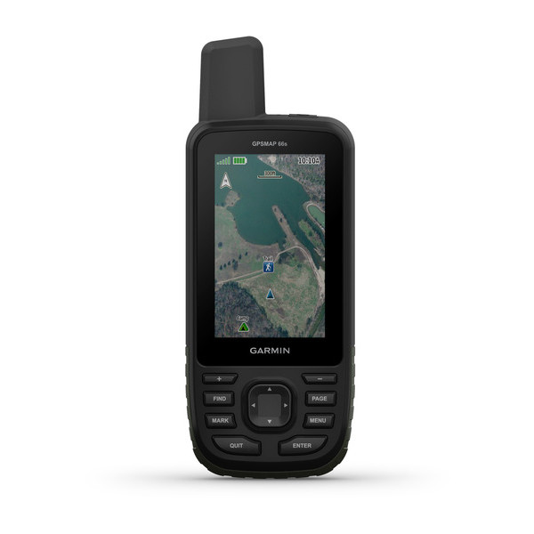 GPSMAP® 66s Multisatellite handheld with sensors and TopoActive Europe Maps