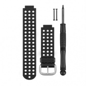 Garmin Watch Bands, Black & White For Approach S5 S6 Forerunner 220 620
