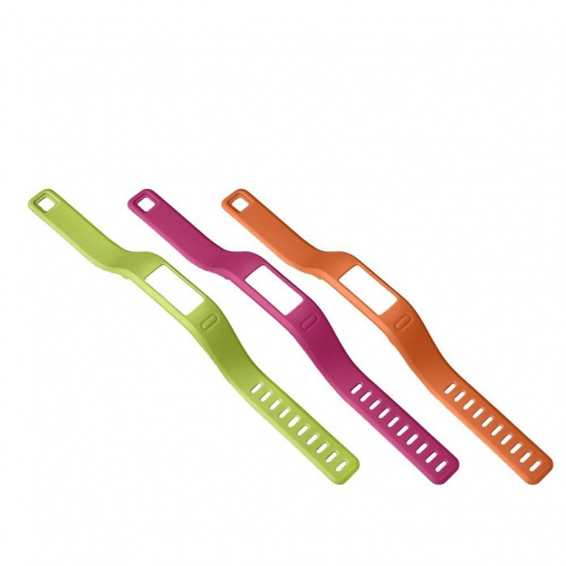 Garmin Vivofit Bands, Large Green Pink Orange