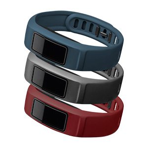 Garmin Vivofit 2 'Downtown' Bands, Large Burgundy Slate Navy 010-12336-01