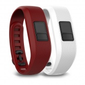 Garmin Marsala & White Bands 010-12452-00