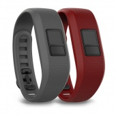 Garmin XL Slate & Marsala Bands