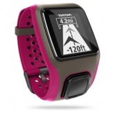 TomTom MultiSport Watch, Dark Pink