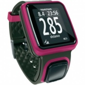 TomTom Runner Watch, Dark Pink