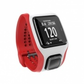 TomTom MultiSport Cardio Watch, Red/White