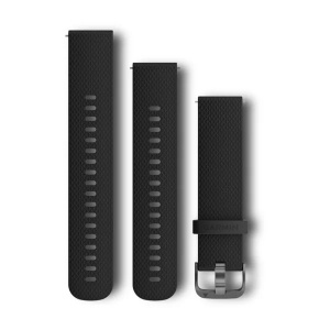GARMIN Quickfit 20mm Replacement Band Black 010-12561-03