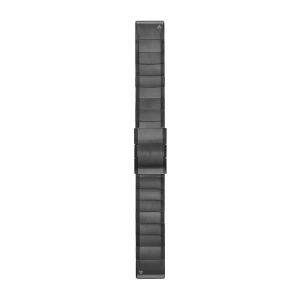 GARMIN Quickfit 22mm Carbon Grey DLC Titanium Replacement Band 010-12740-02