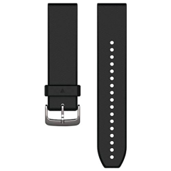 GARMIN Quickfit Black/Silver Replacement Band 010-12500-00