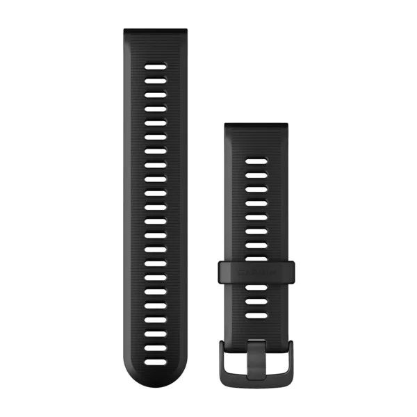 GARMIN Replacement Band Black with Slate Hardware FR935 & FR945 010-11251-2C