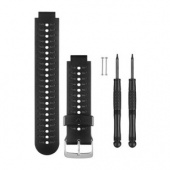 Garmin Watch Band, Black & Grey For Forerunner 230/235/630