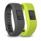 Garmin Shark Fin Gray & Borealis Green Bands