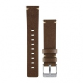 Garmin Vivomove Band, Dark Brown Leather