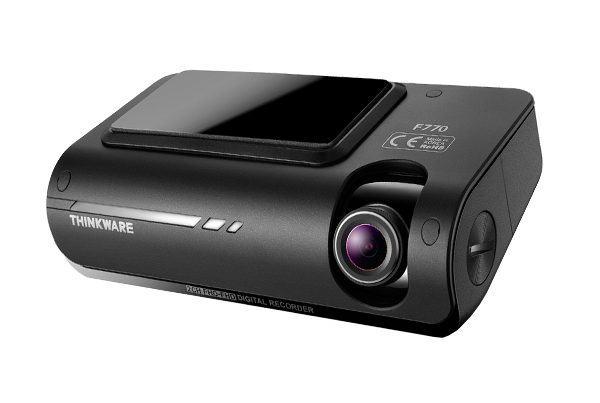 Thinkware F770 32GB 2CH Dash Cam with Hard Wiring Kit & Rear Internal Camera